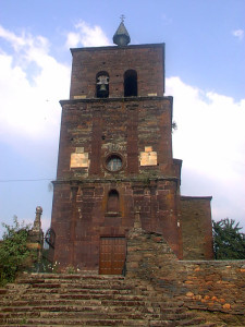 iglesia de montefurado exterior