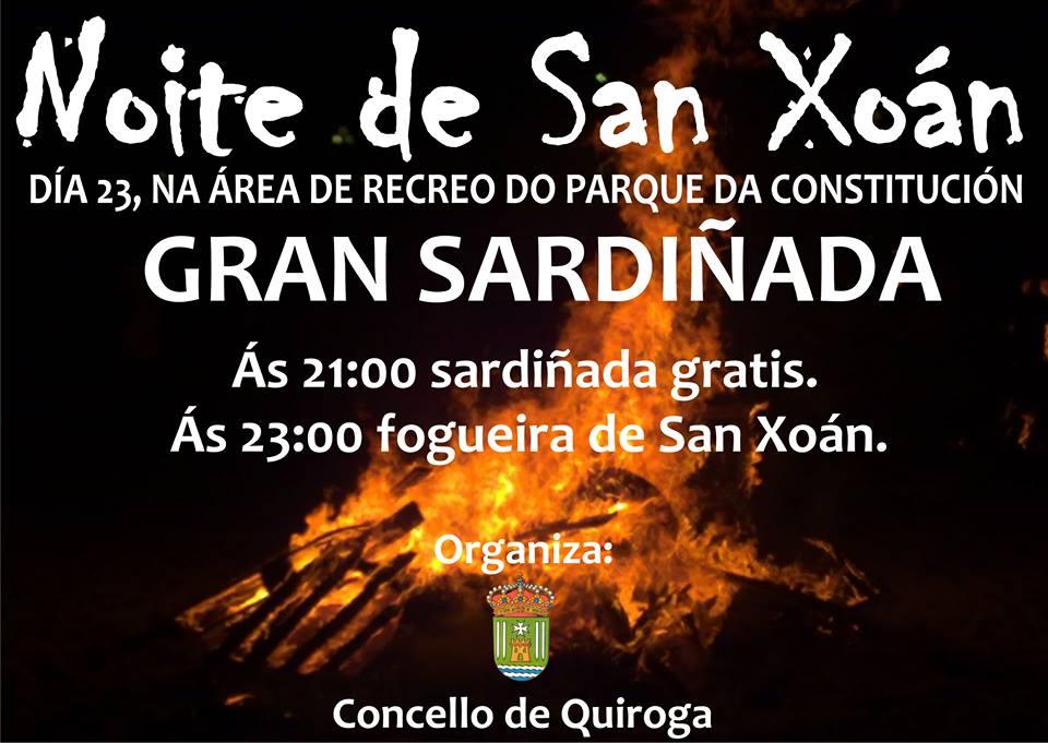 Noite de San Xoán 2016 no Concello de Quiroga