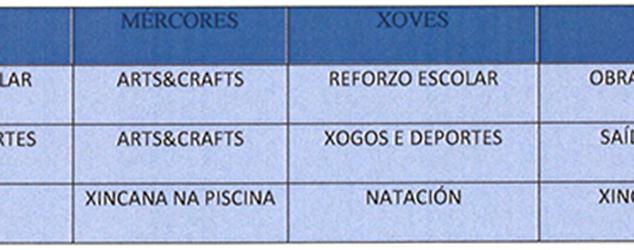 Anuncio dos Campamentos de verán 2016 en Quiroga