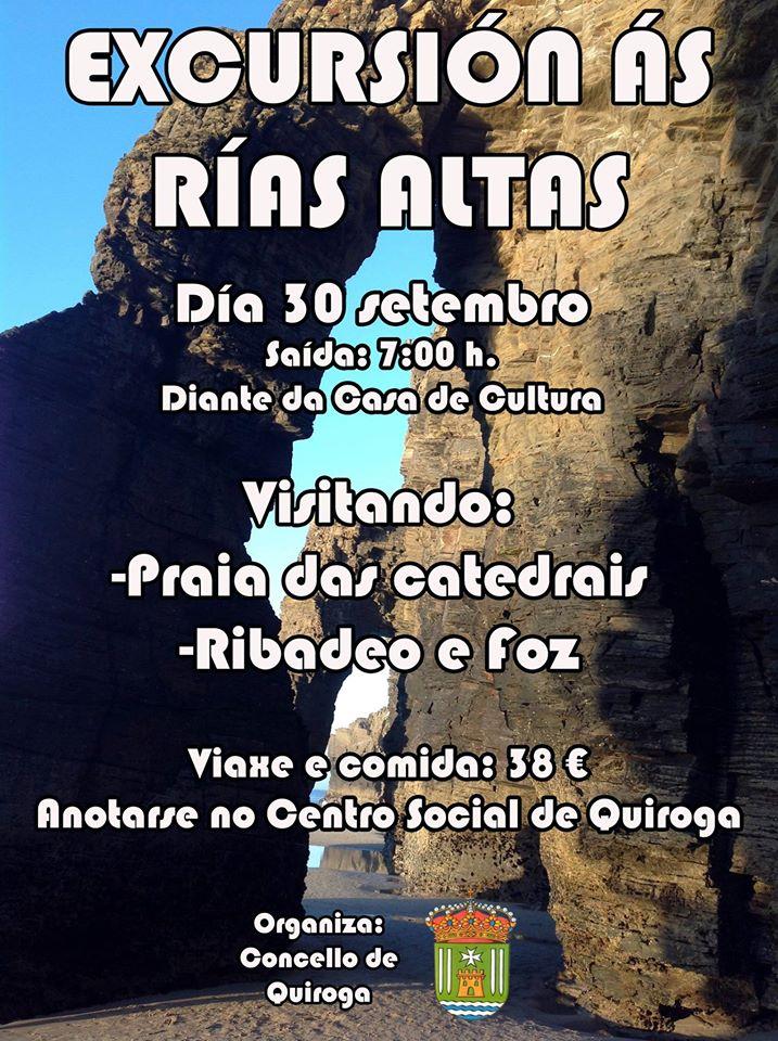 VIAXE RÍAS ALTAS