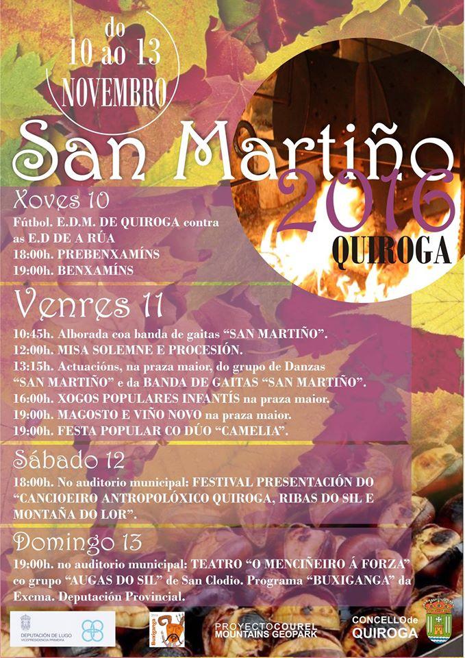 Cartel de San Martín 2016