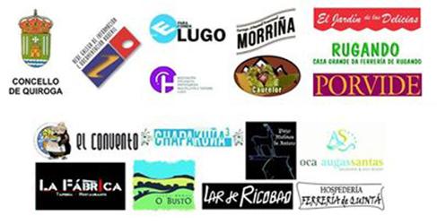 Organizadores y colaboradores del 6º Quiroga de tapas