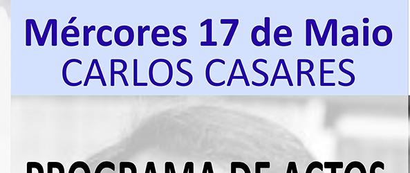 Anuncio do Día das Letras Galegas 2017 en Quiroga