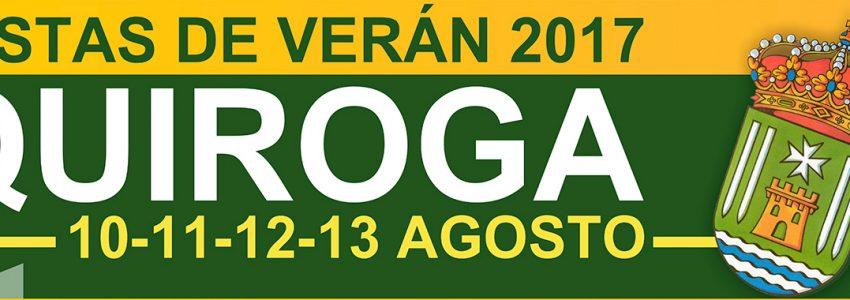 Fiestas de verano 2017 en Quiroga