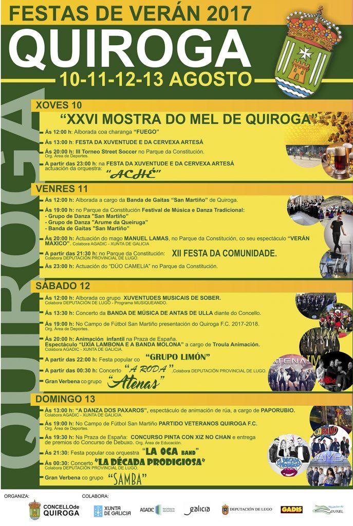 Programa de las Fiestas de verano 2017