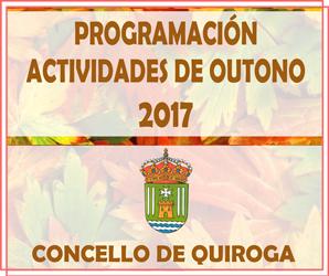 Actividades outono 2017
