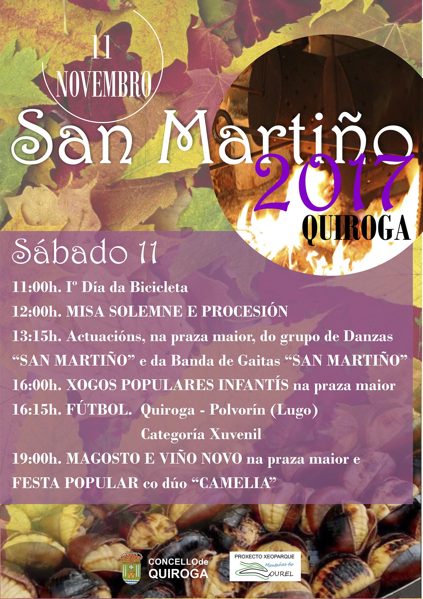 Cartel San Martín 2017