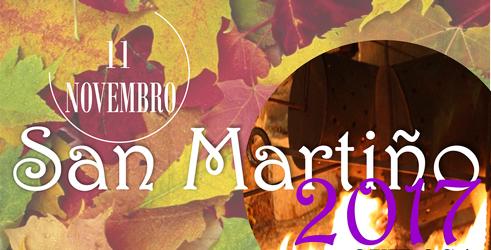 Anuncio do cartel do San Martiño 2017 no Concello de Quiroga