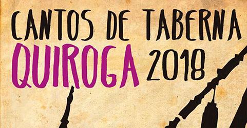 III edición dos «Cantos de Taberna» no Concello de Quiroga 2018