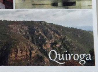 Postal promocional del Ayuntamiento de Quiroga