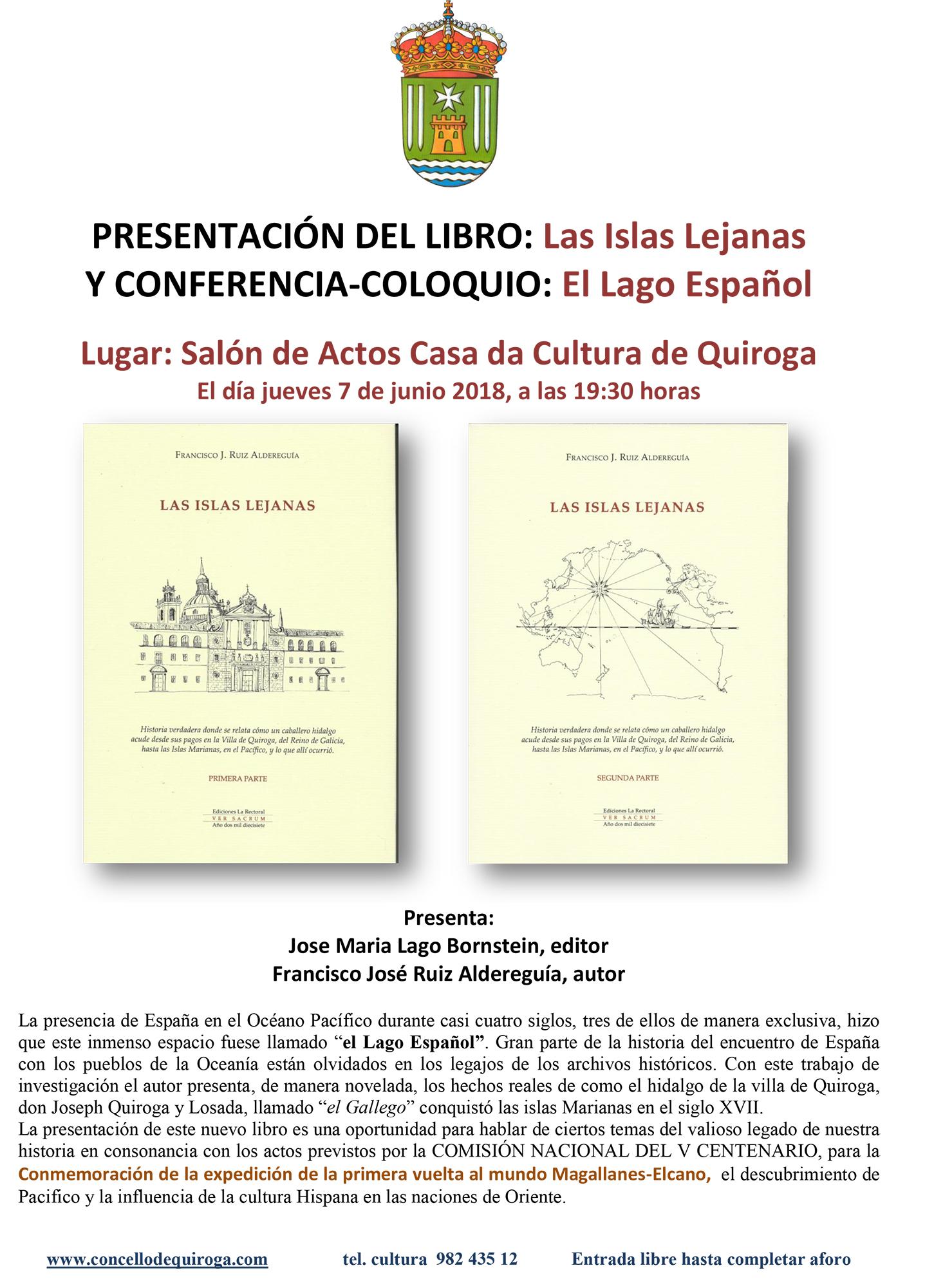 Presentación do libro «Las Islas Lejanas»