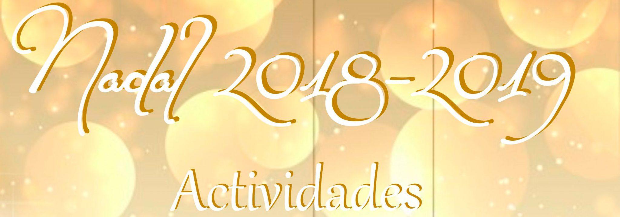 Programa de actividades para o Nadal 2018-2019 no Concello de Quiroga