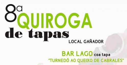 Local ganador del 8º concurso de tapas de Quiroga