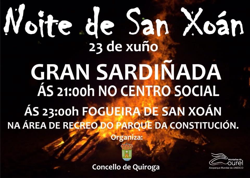 Noche de San Juan 2019 en Quiroga