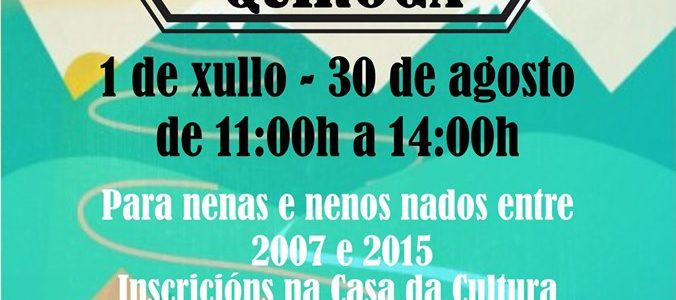 Campamentos de verano en Quiroga 2019