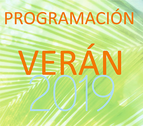 Programa de actividades verán 2019