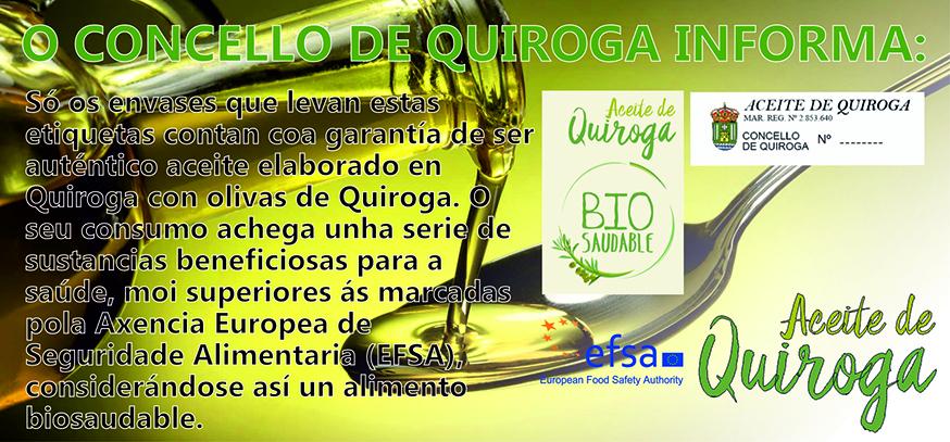 Selos do aceite de Quiroga