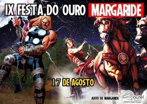 Cartel da IX Festa do Ouro en Margaride