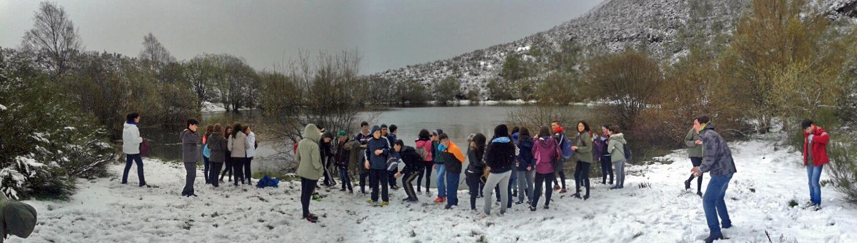 Visita a la Laguna de la Lucenza