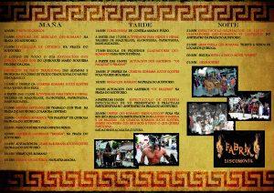 Programa de Qui-Roma 2019 en Quiroga