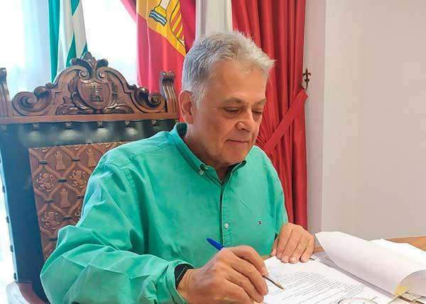 Julio Álvarez Núñez. Alcalde de Quiroga